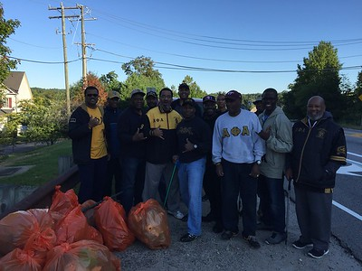 September 9, 2107 Adopt-A-Highway Cleanup