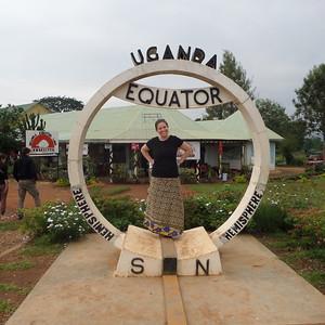 Sarah Visits Uganda Dec 2013