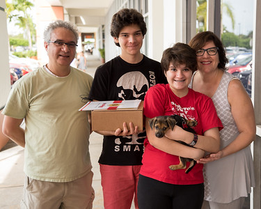 Cinnamon's Puppy's New Family