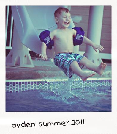 Ayden's Summer Fun 2011