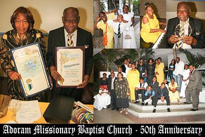 Adoram Baptist Church 50th Anniversary