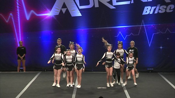 10 Sparks Cheerleading Junior - Pee Wee Xsmall