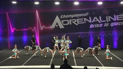 29 - Matrix Cheeleading Allstars MCAs Diamonds - Civile Senior Combine (All Girl)
