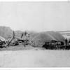 [Large threshing operation, near Broadview, 1895]