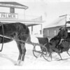 Lorn and stupid horse, north of Gravelbourg, circa 1920