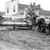 [Farming machinery outside of Moffat's dealership, Shackleton, 1920s]