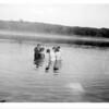[Associated Gospel Christians christening, Moose Mountains, 1936]