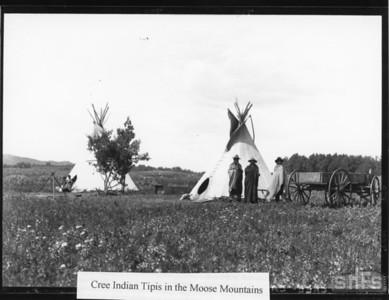 Cree Indians Tipis