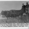 Transportation, Viscount, Sask., 1915-20
