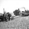 Threshing on the farm of John Fish, near Wartime, 1920s