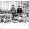 [Honey-filled log, Manitoba]