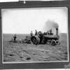 [Engine pulling three small ploughs, Gapview District, 1905]