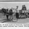 Ox team. 20 miles north of Ethelbert, Manitoba, 1934