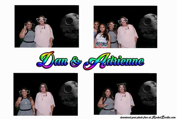 Adriene and Dan