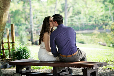 Adrienne Engagement Shoot | Morikami Gardens