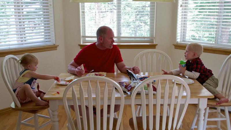 Lunch at Grandpa's