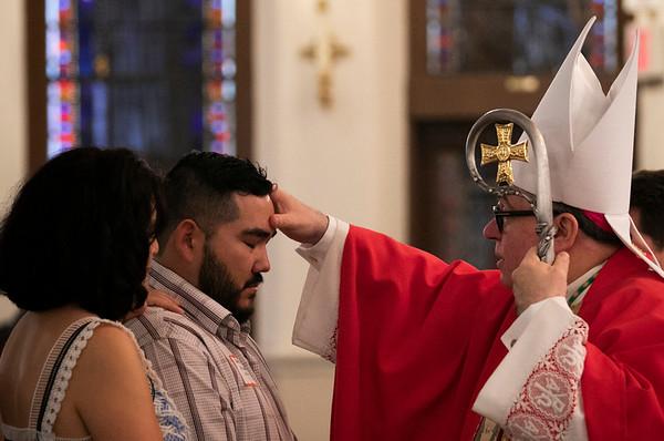 Adult Confirmation Mass, October 2018