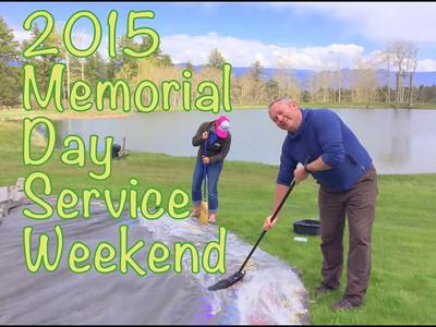 2015 Memorial Day Service Weekend