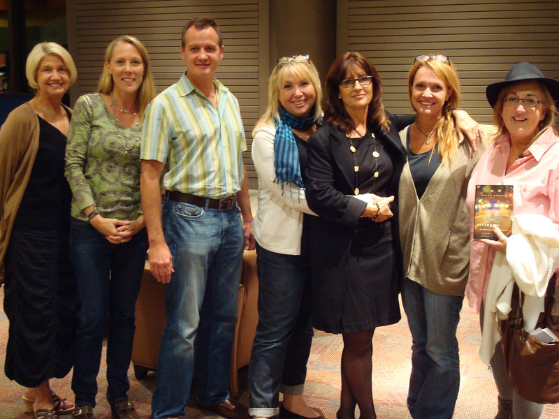Author River Jordan and fans