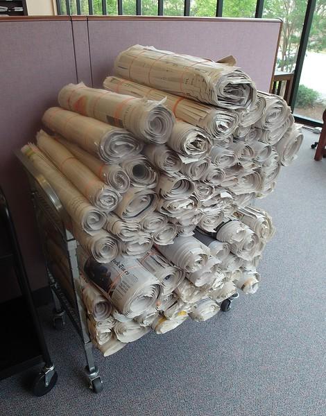 2014 Helping Hands Newspaper Rolls