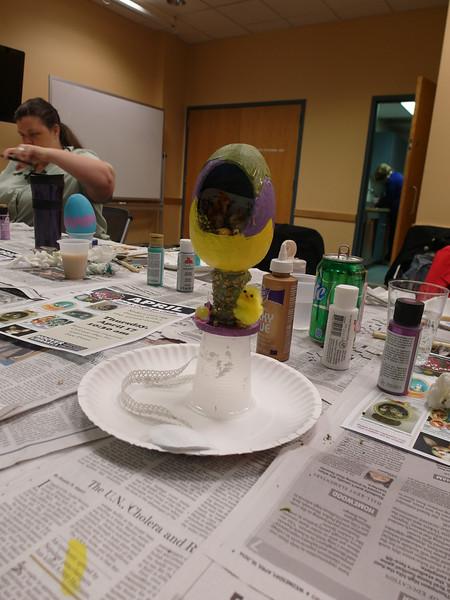 April 2014 - Egg Dioramas