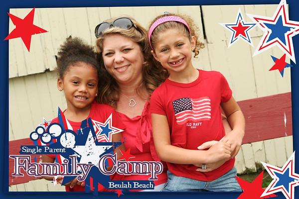 Single Parent Family Camp