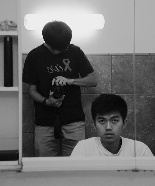 Kingsley Through Mirror