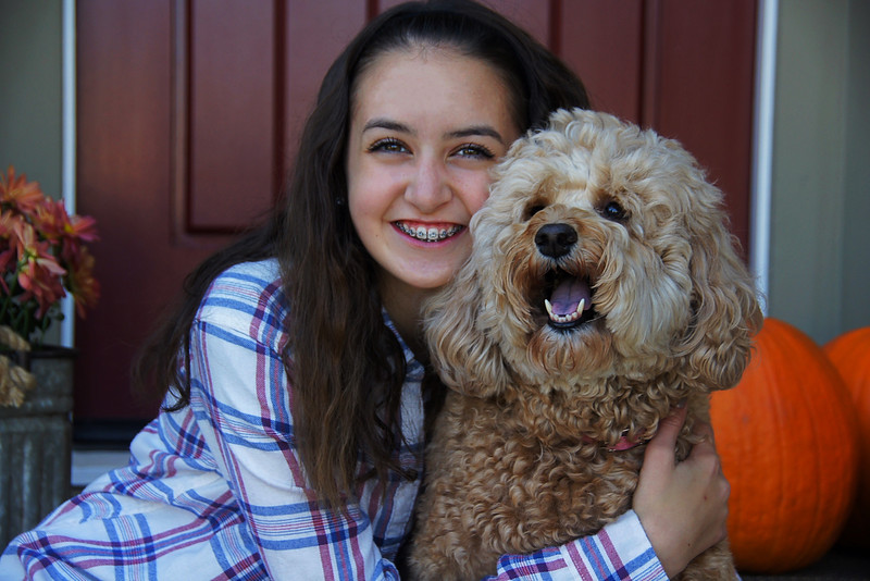My Beautiful Sister and Dog
