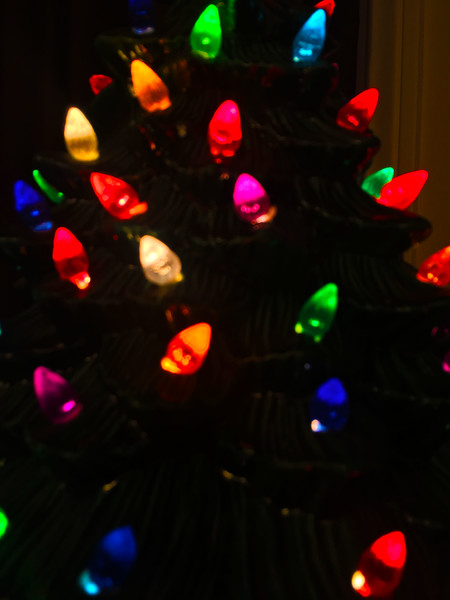blurred christmas