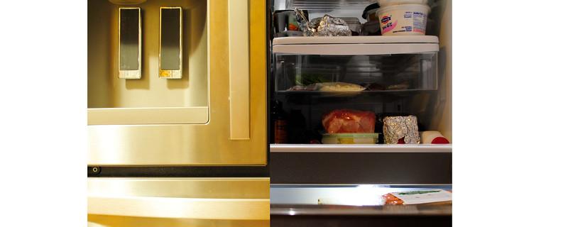 fridge: opened and closed