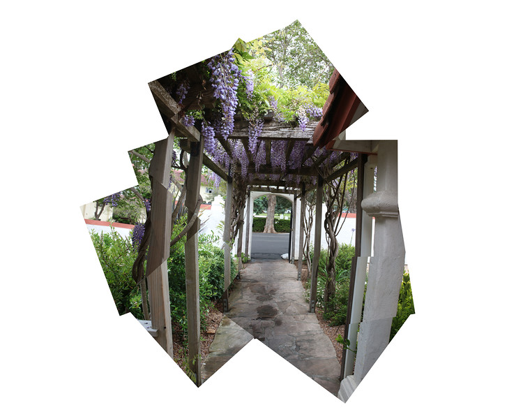 Walkway from Admissions