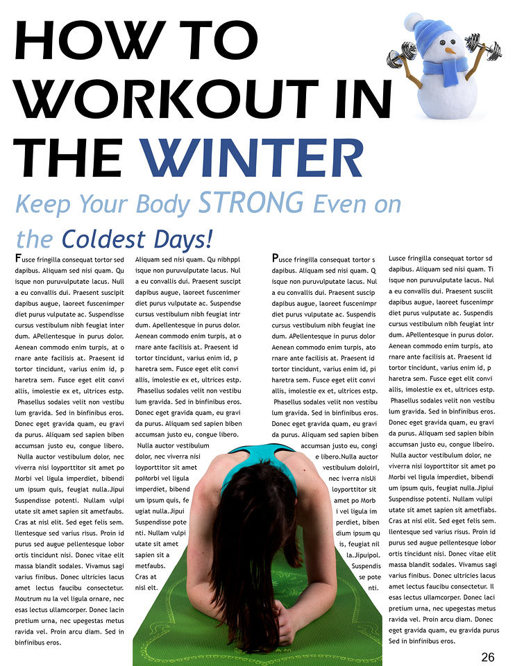 how to workout in the winter
