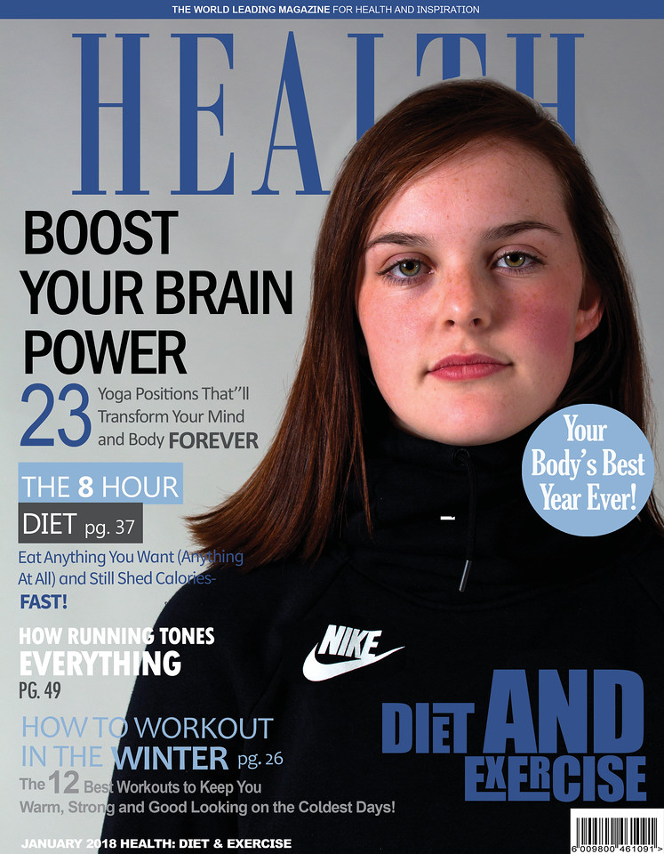 diet and exercie magazine cover