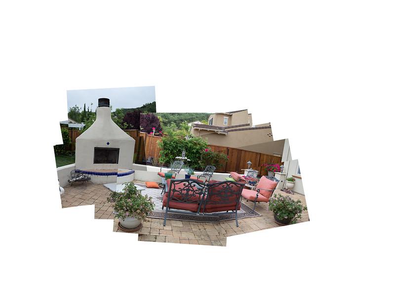 Backyard Panograph