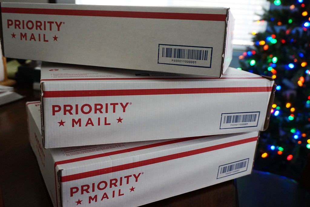 Priority Mail of Presents