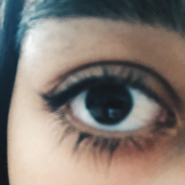 focusing on eyes