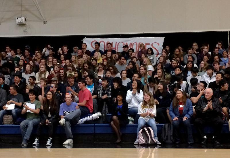 Sophomore crowd