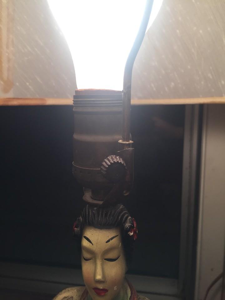 Chinese Lady Lamp