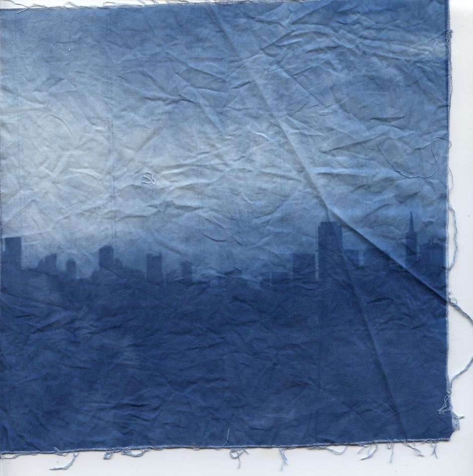 The City Cyanotype
