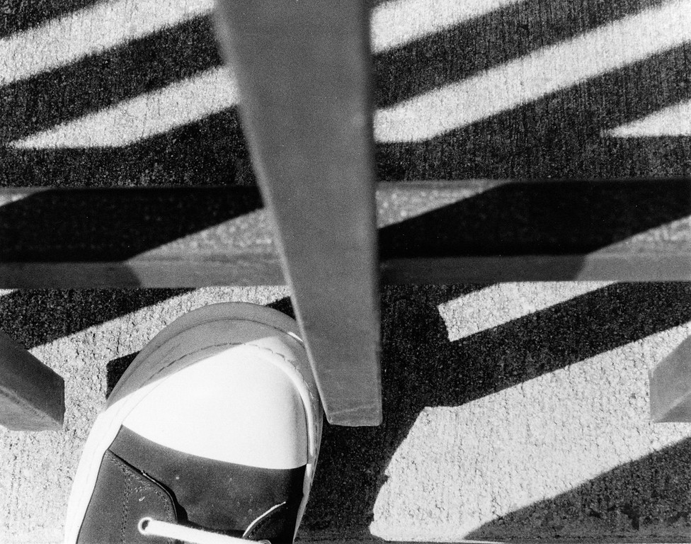 lines and the shoe