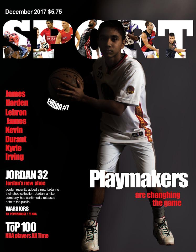 Magazine Cover SPORT