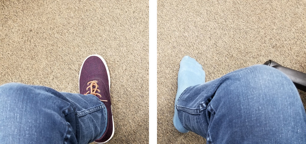 shoes and sock