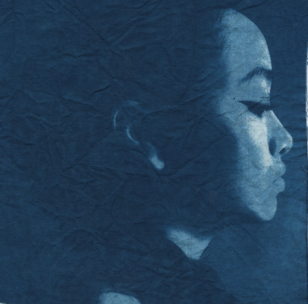 cloth cyanotype
