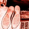 Shoes Over the Shoulder Digital Negative