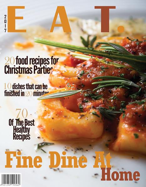 Food Magazine Cover - Recipe Book