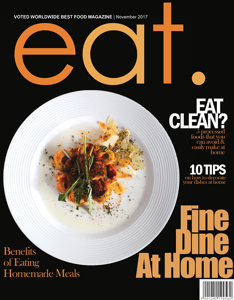 Food Magazine Cover - Introducing Food