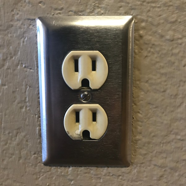 A Pair of Surprised Outlets