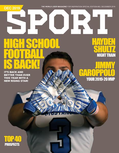 Sport Magazine Cover #2