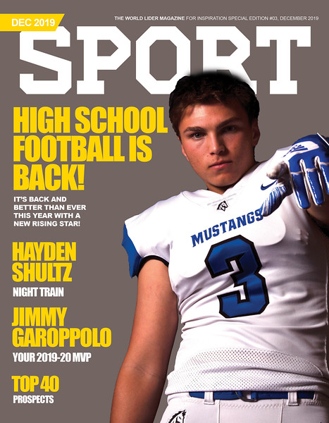 Sport Magazine Cover