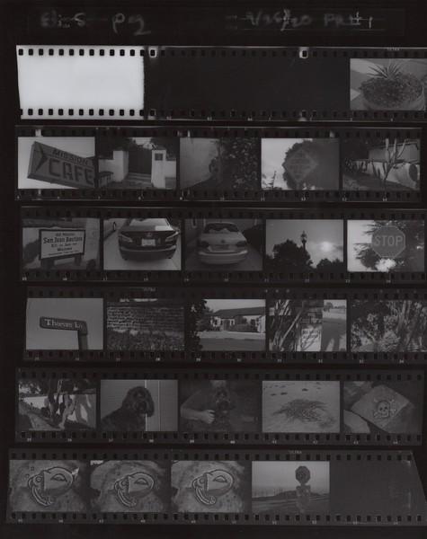 Film Roll #1 - Proofsheet